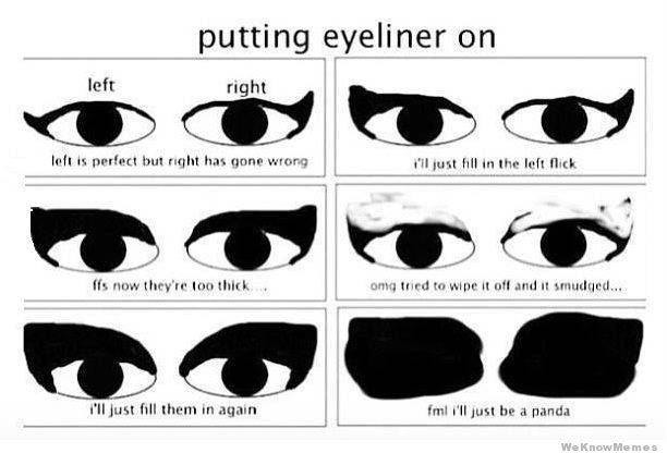 putting-eyeliner-on.