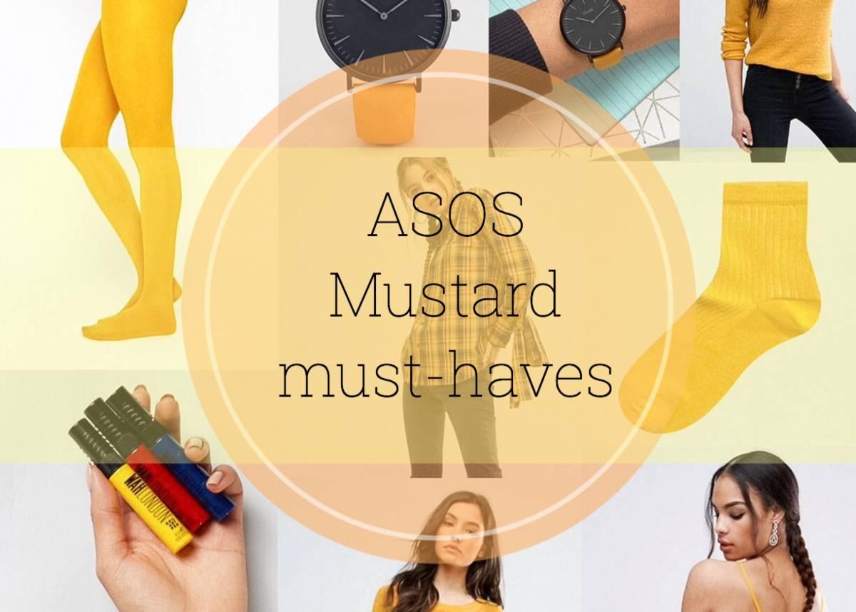ASOS mustard must-haves | £30 off