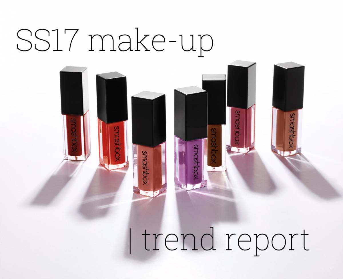 SS17 make-up | trend report