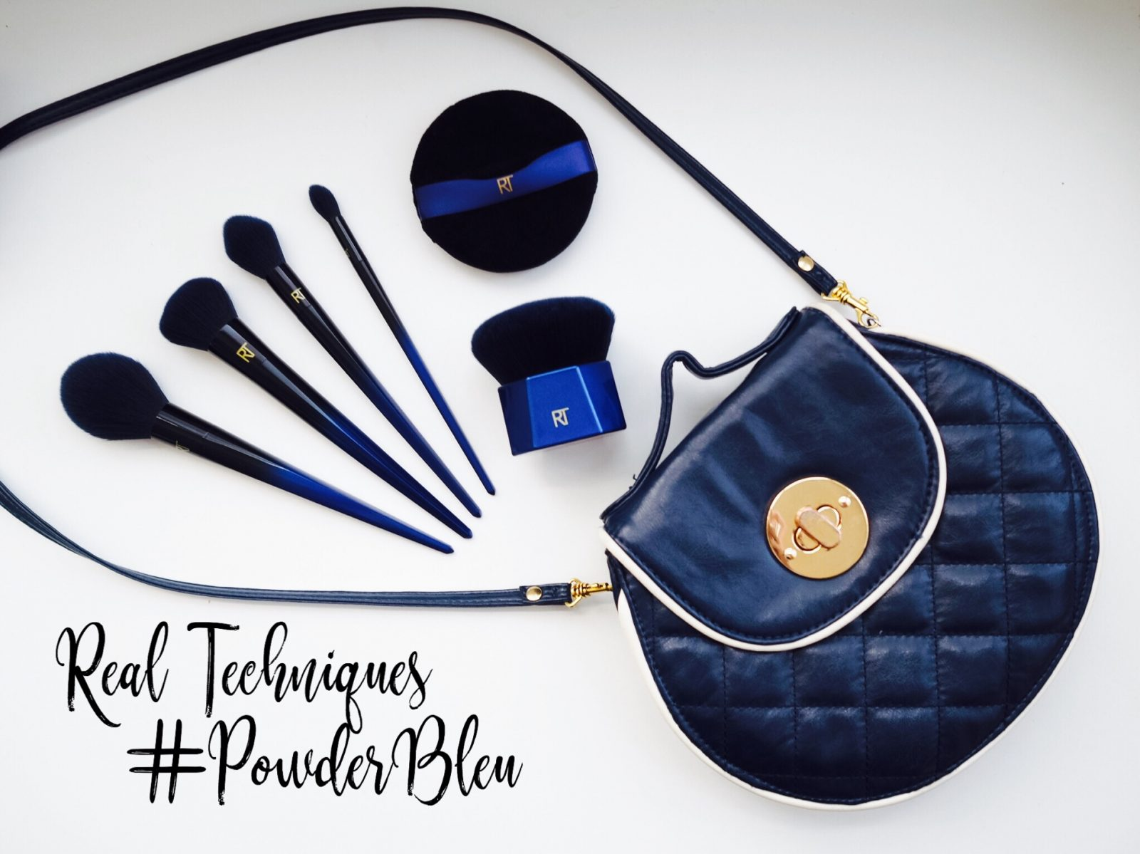 Real Techniques PowderBleu Collection | Cruelty Free Review